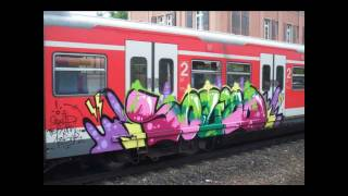 Stuttgart Graffiti Train #2