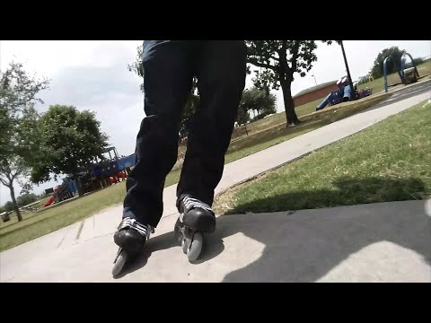 #87 Testing out my Buaer Vapor inline skates at Jackson Memorial park. (Narrated)