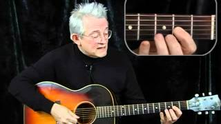 Revolution Easy Acoustic Guitar Lesson - Beatles  Taught by Peter Langston