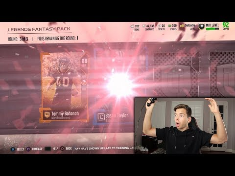 LOOKING TO KEEP THE LEGEND PULL STREAK ALIVE! MADDEN 18 PACK OPENING
