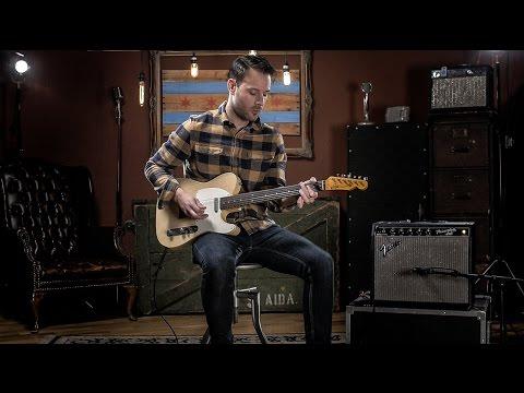 Whitfill T-60s Blonde Whiteguard Light Relic Guitar Demo