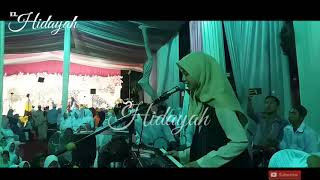 Balasan lagu kerudung biru syubban lovers feat el Hidayah live in PP NURUL QODIM