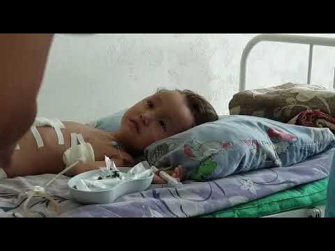 Костанайские детские врачи спасли трехлетнюю жительницу Учкудука