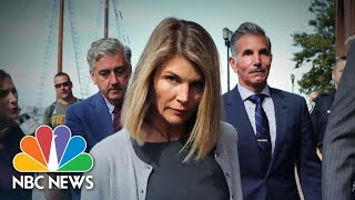 Lori Loughlin & Husband Mossimo Giannulli Sentenced In College Admissions Scandal   NBC Nightly News