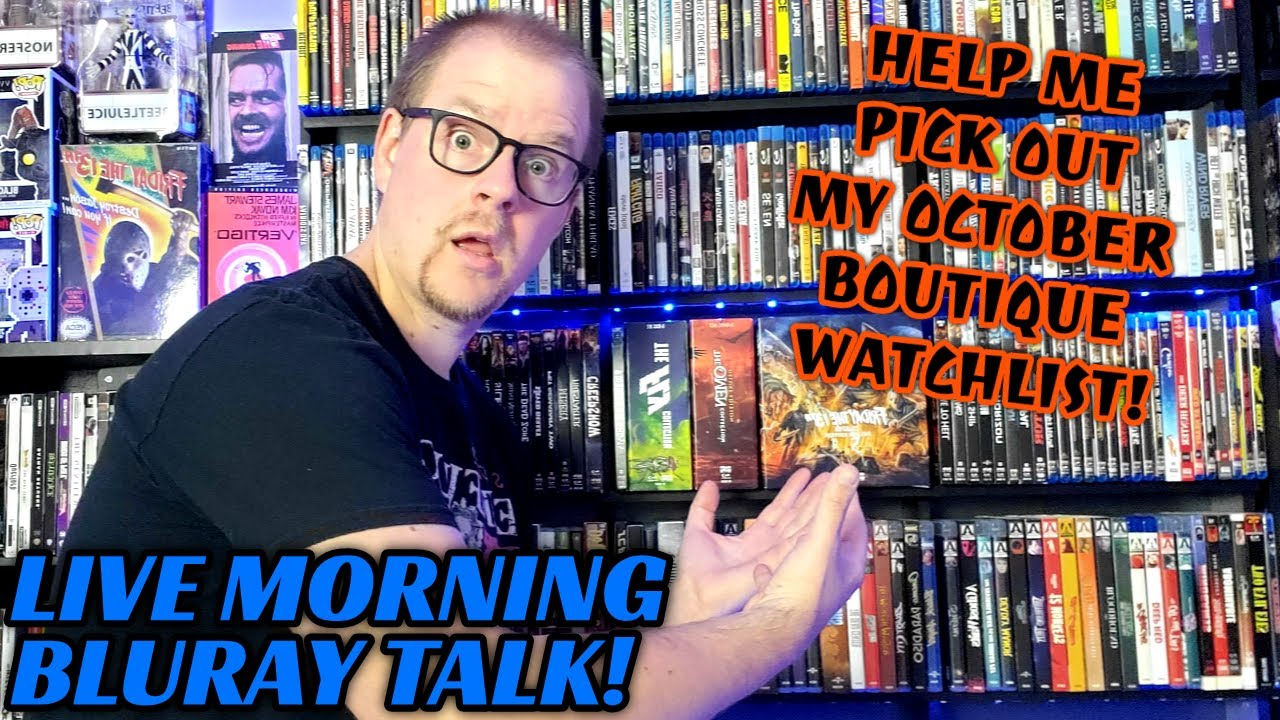 Download Morning Bluray Talk! | Help Me Pick My 31 Days of Boutique Horror!