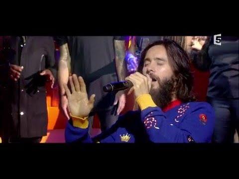 Le live : Thirty Seconds to Mars - C à Vous - 29/11/2017
