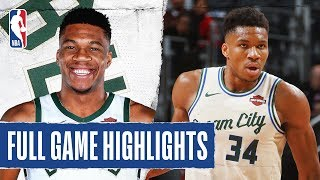 BUCKS at PISTONS | FULL GAME HIGHLIGHTS | December 4, 2019 Video