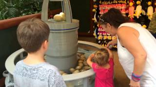 Jurassic Park Egg Nursery Game at Islands of Adventure