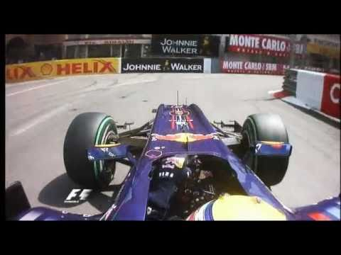 F1 Onboard Pole 2010 Monaco - Mark Webber