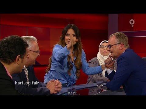 Hamed Abdel-Samad Und Enissa Amani Bei Hart Aber Fair Zum Thema Islam | 09.04.2018