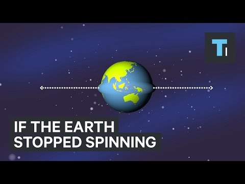 If the Earth stopped spinning