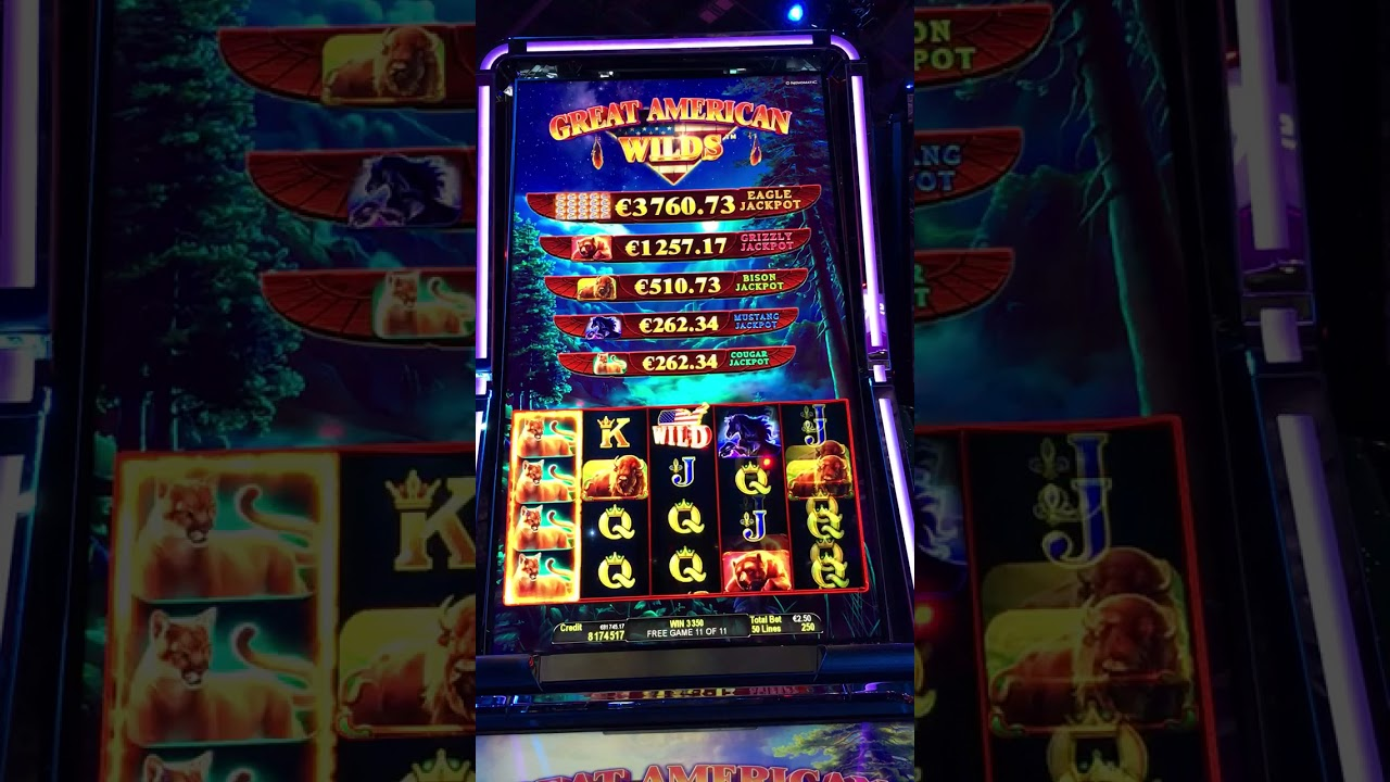 Great American Wilds Slot Machine
