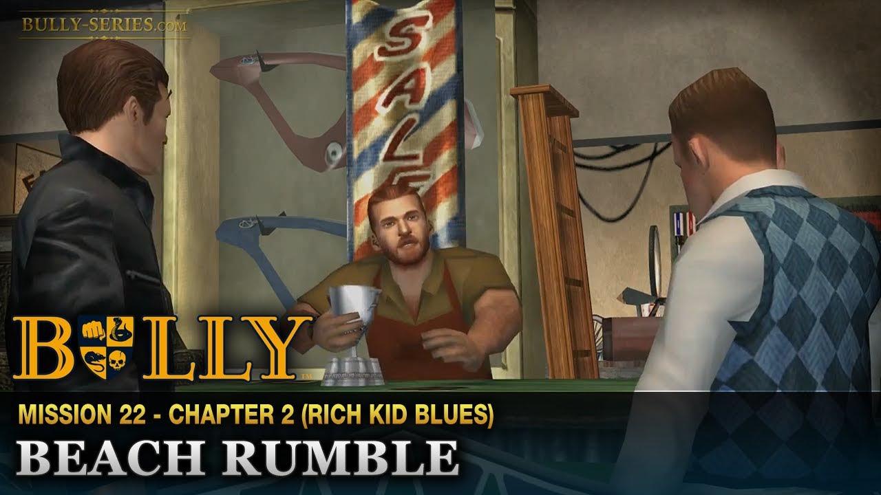 Bully   Playthrough #23   Beach Rumble
