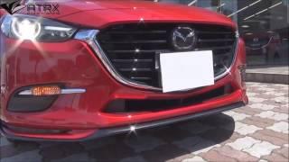 Full Body Kit OEM Racing Series Mazda 3 Sedán & Hatchback 2017