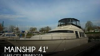 [SOLD] Used 1989 Mainship 41 Grand Salon in Lake City, Minnesota