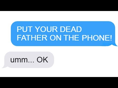 "r/Maliciouscompliance ""PUT YOUR DEAD FATHER ON THE PHONE!"" Funny Reddit Posts"