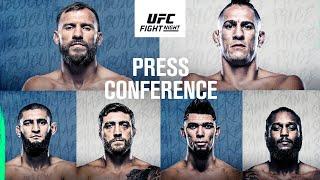 UFC Vegas 11: Press Conference
