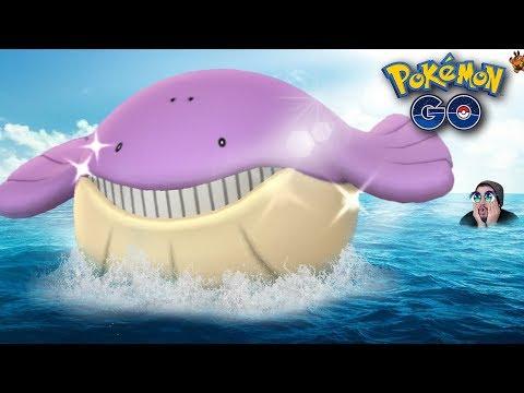 CONSEGUÍ A WAILMER SHINY!! | 499 | Pokemon GO?