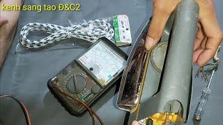 Kiểm tra và sửa bàn ủi mua từ đồ ve chai giá 25k