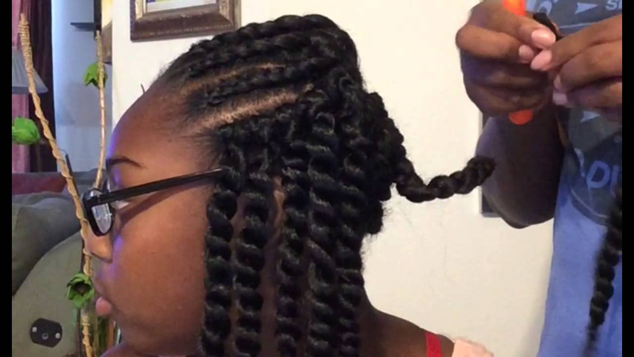 Crochet Braids Kid Friendly : Back To School Hair - YouTube