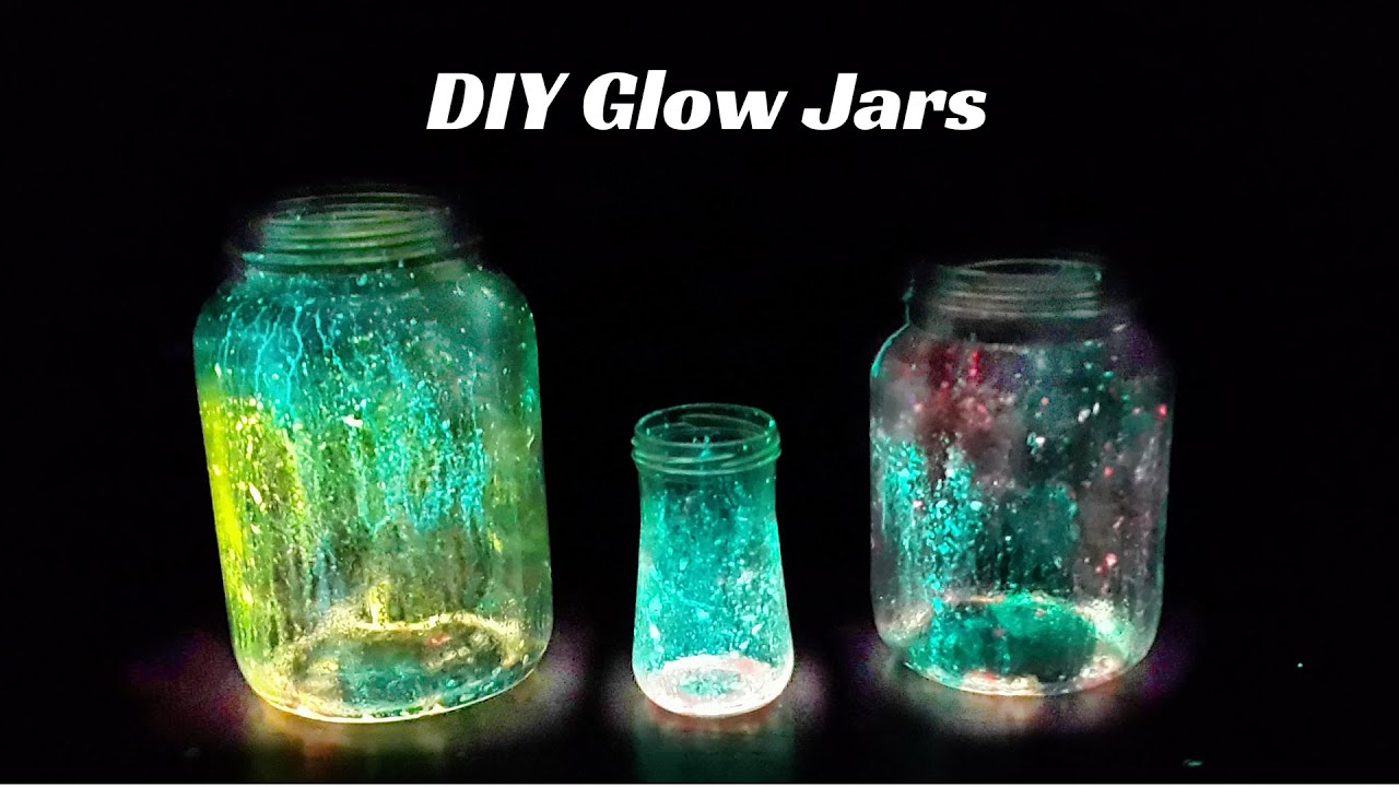 How to Make Glow Jars | DIY Christmas Decoration Ideas - YouTube