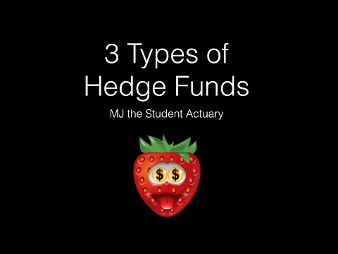 3 Types of Hedge Funds