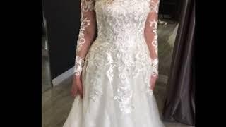 Примерка свадебного платья Эльяни в салоне Венеция