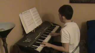 playing birdie song birdie dance on piano/keyboard!