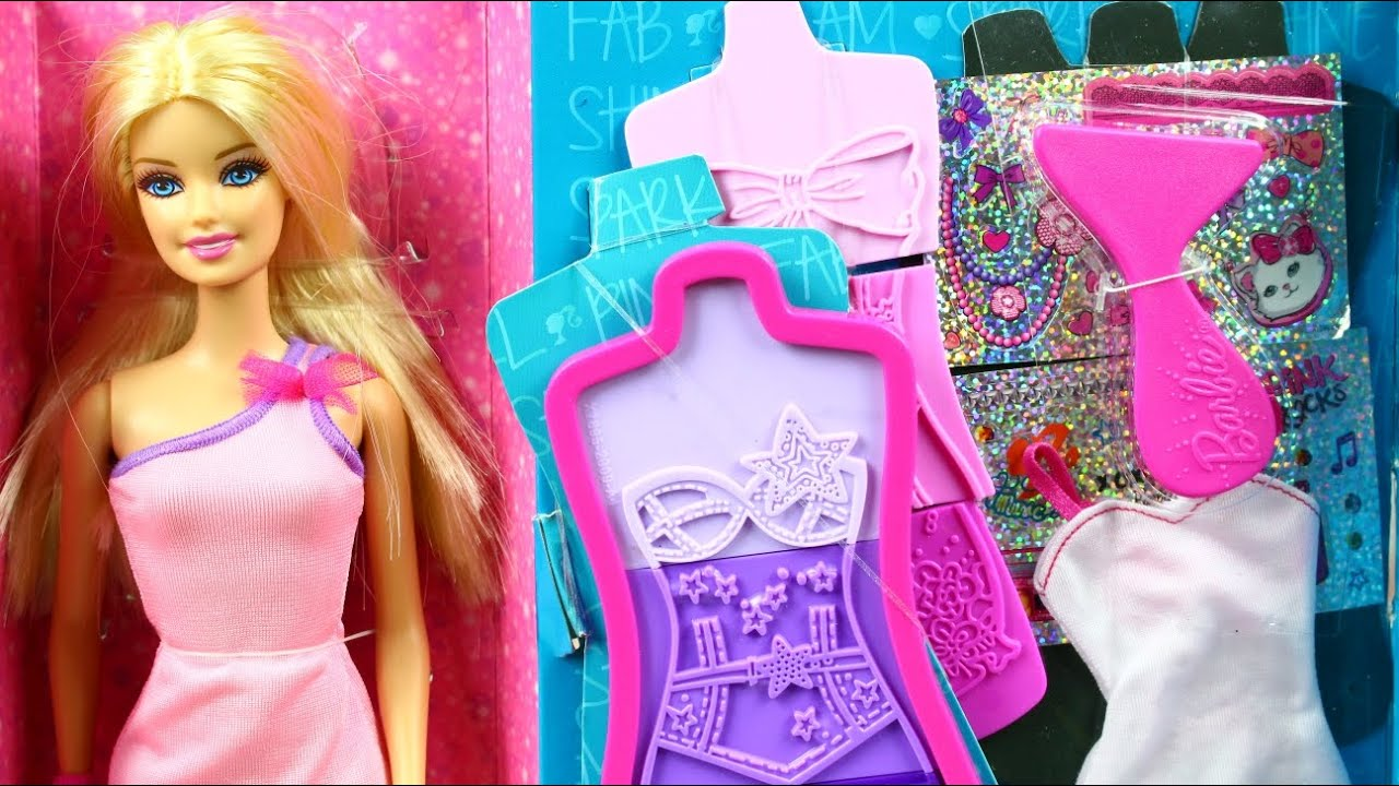 Barbie Fashion Design Maker Doll Ccg95 Youtube