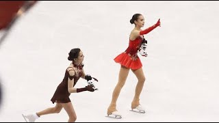 Rival Russians, United by Fate, in the Women's Figure-Skating Final at the Winter Olympics