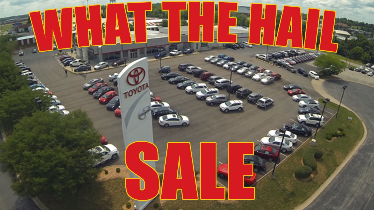 Frankfort toyota what the hail sale