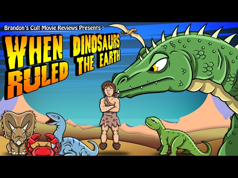Brandon's Cult Movie s: When Dinosaurs Ruled The Earth