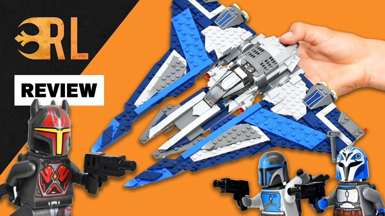 LEGO Star Wars Mandalorian Starfighter REVIEW / TIMELAPSE / SHOWCASE - 2021 NEW LEGO set 75316