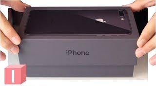 iPhone 8 Plus - распаковка и первое впечатление