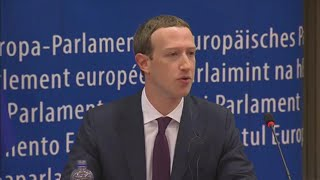 Facebook, Zuckerberg si scusa al Parlamento UE: