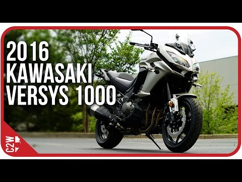 2016 Kawasaki Versys 1000 | First Ride
