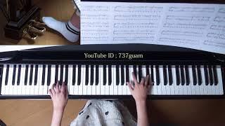 使用楽譜;月刊ピアノ2017年12月号 採譜者:渋谷絵梨香 (ぷりんと楽譜...