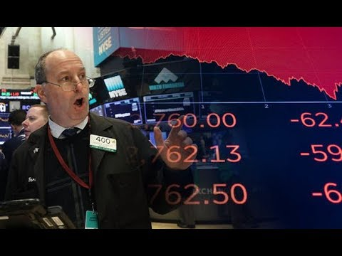 DOW Drops 1600 Points - World Stock Market Collapse !!  FEB 2018!!