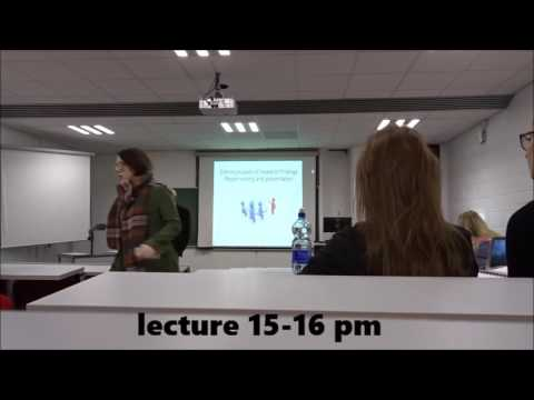 Day in the life of a student at the University of Limerick