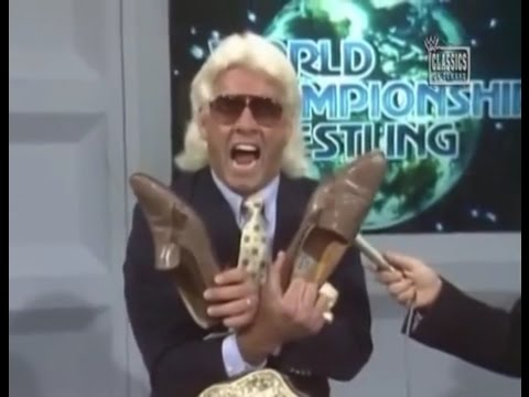 "Best Promos - Ric Flair ""$600 Dollar Lizard Shoes"""