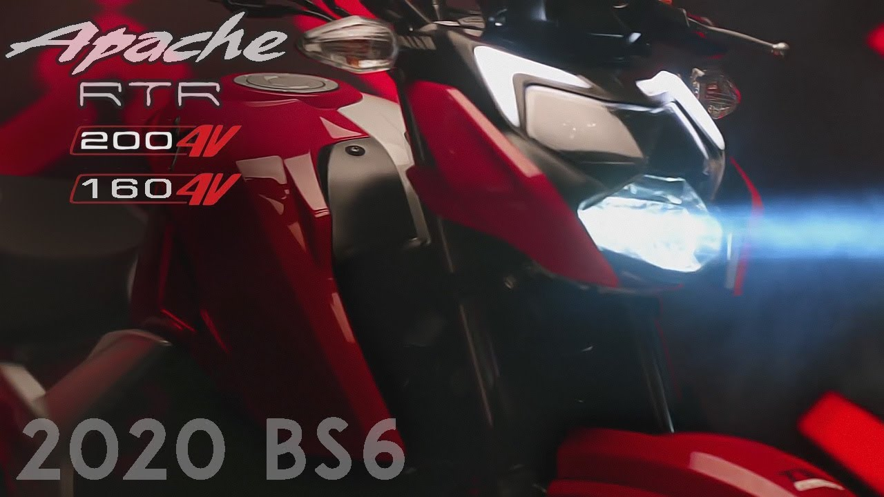 2020 Apache 200 4v Bs6 Apache 160 4v Bs6 Official Details