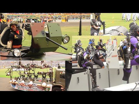 Wow! Ghana @63: FANTASTIC MILITARY DISPLAY