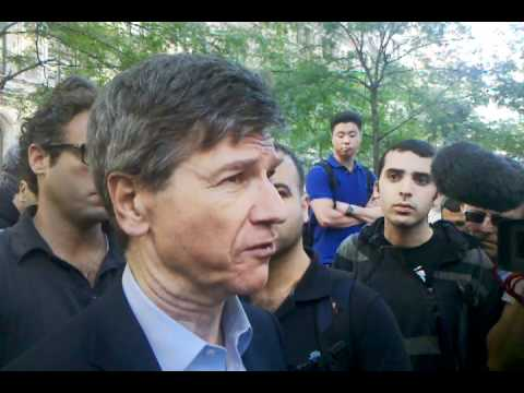 Jeffrey Sachs (Columbia University professor) Supports Occup