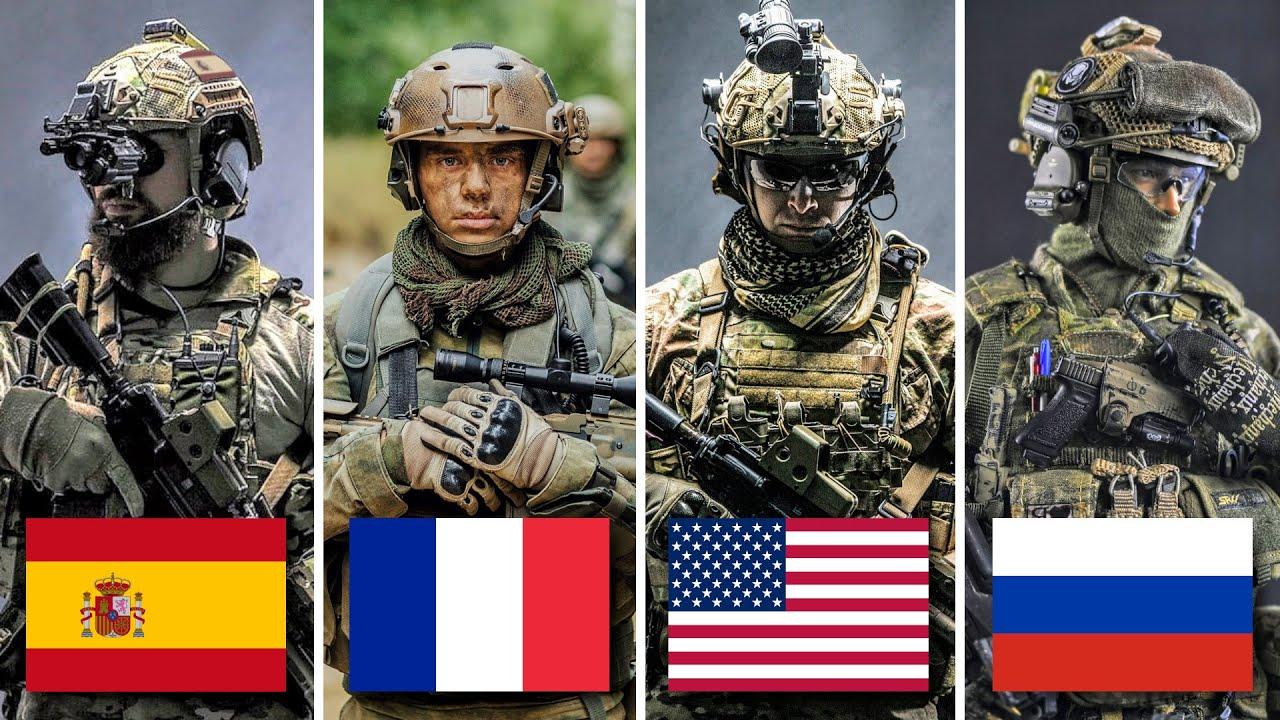 10 Poderosos Ejércitos que Aceptan Extranjeros en sus Filas