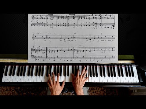 Hello Dolly - Piano Tutorial [with Sheet Music]