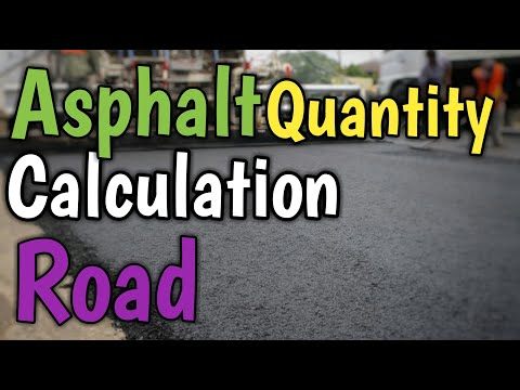 How to #Calculate #Asphalt #Quantity || Mr #CivilEngineering Expert