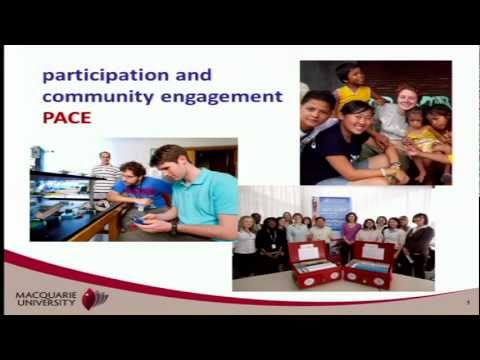 PACE - Participation and community engagement