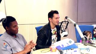 "Andy Grammer sings ""Keep Your Head Up"" at Seacrest Studio at Children's Hospital Colorado"