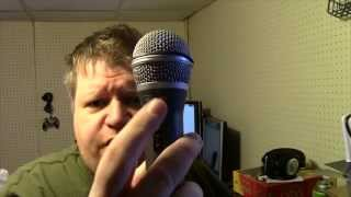 Unboxing and test of the Samson Q2U Recording Pak