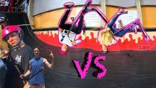 JORDAN CLARK vs LEO SPENCER ! FLAIR WHIP FLAT !